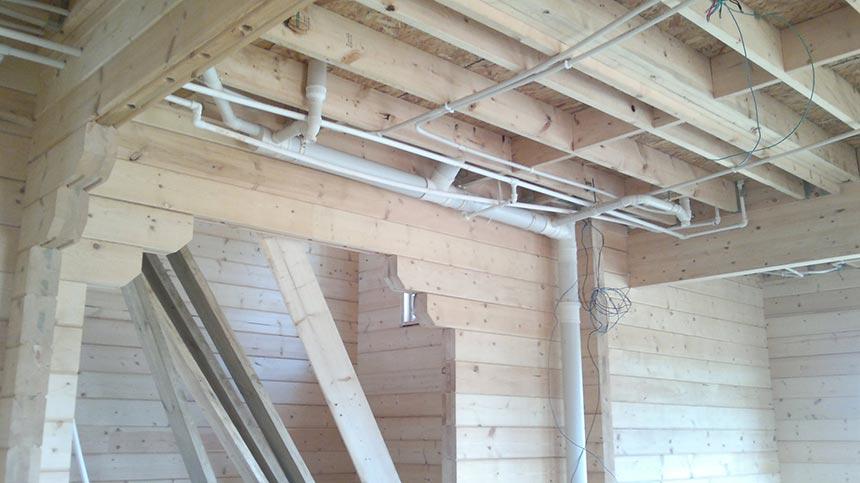 原木结构施工流程